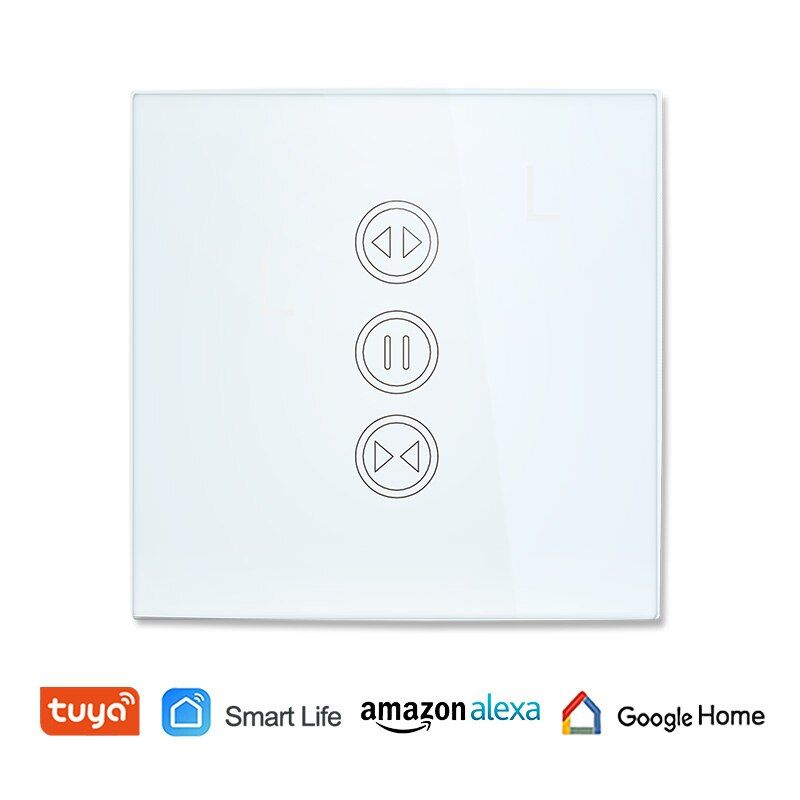 Tuya Smart Life WiFi Curtain Switch for Electric motorized Curtain Blind Roller Shutter Google Home Amazon Alexa Voice Control