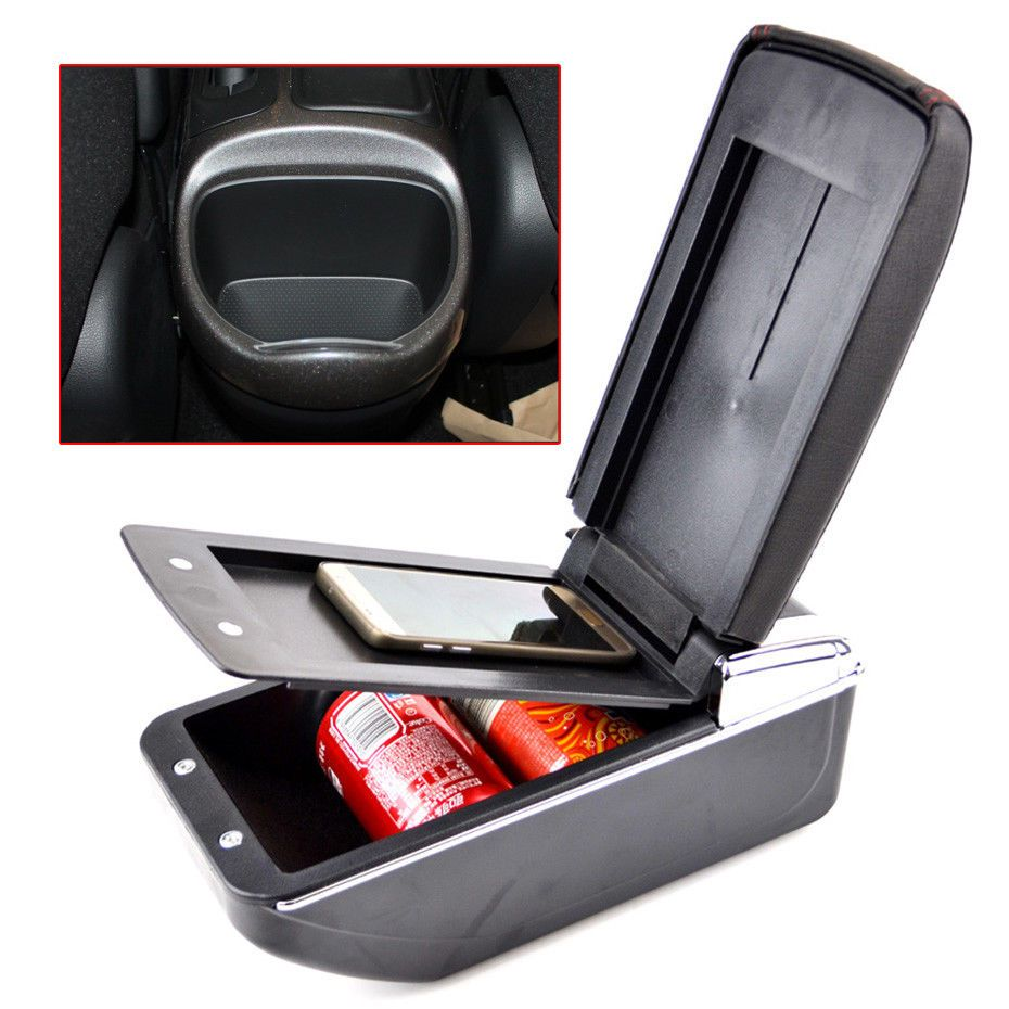 Принадлежности для шашлыков @ fuka для 2011-2017 Nissan Juke искусственная кожа подлокотник коробка для хранения лоток центральной консоли эсквайр
