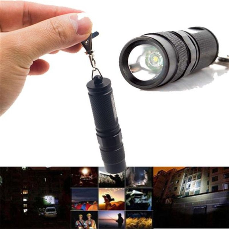 3011# world-wind 2000 Lumen new Q5 LED bicycle  Flashlight Torch Lamp Outdoor Light  free shipping