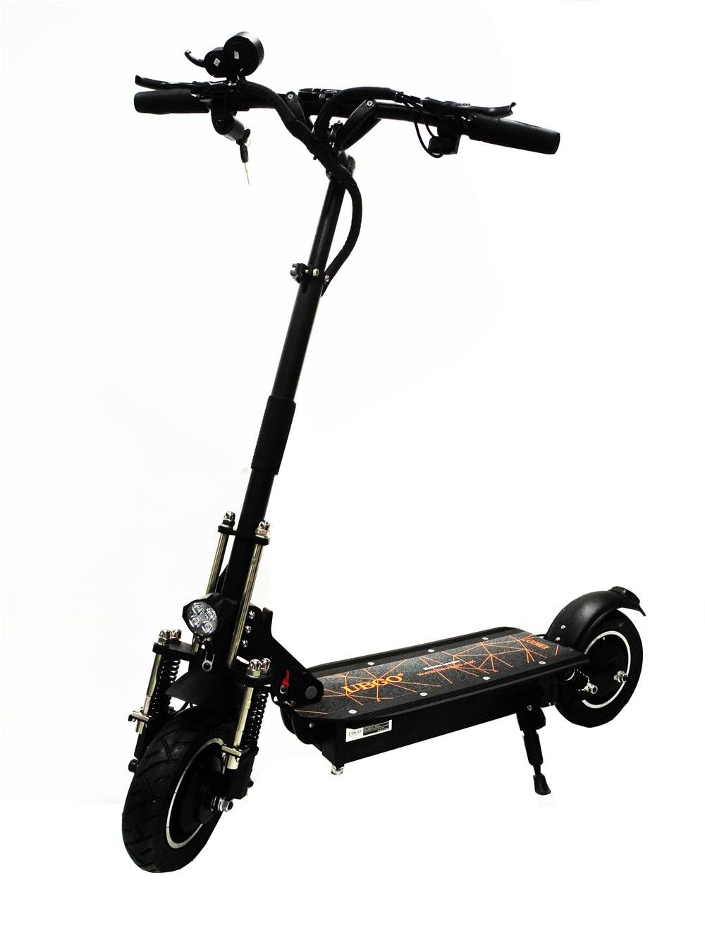 UBGO 1005+ 60V/52V Double Drive Gapless handle bar 2000W motor powerful electric scooter