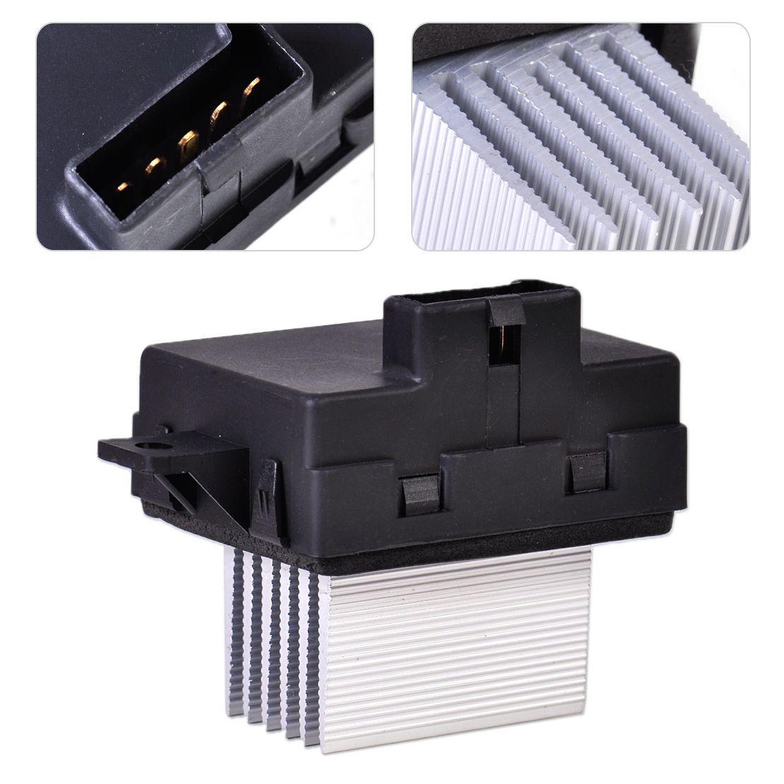 DWCX HVAC Heater Blower Motor Resistor 8E5Z19E624A JA1712 YH1825l EBY-100342 for Ford Fusion Lincoln MKZ Zephyr Mercury Milan