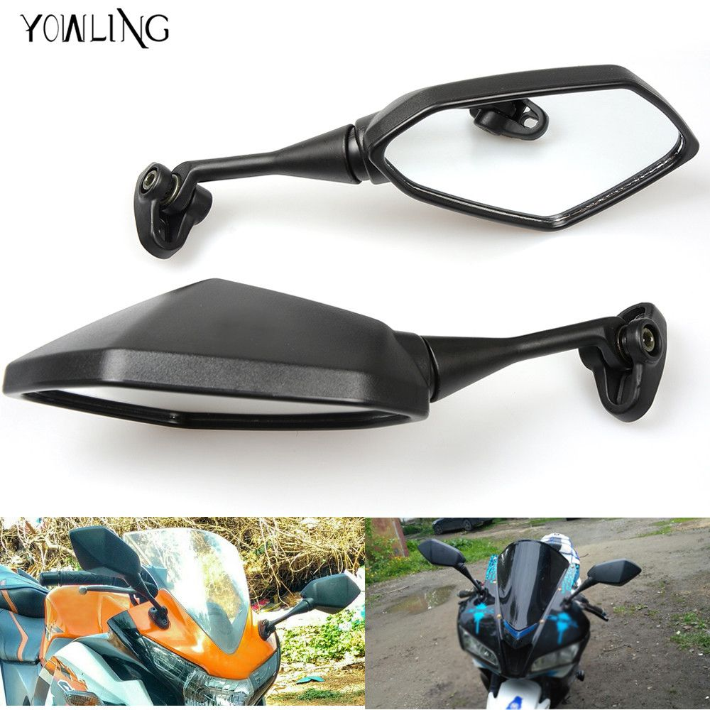Motorcycle Racer Rearview Back Side View Mirror For honda CBR929RR CBR600RR CBR954RR CB1000R CBR125R CB600F CBR 600 F2,F3,F4,F4i