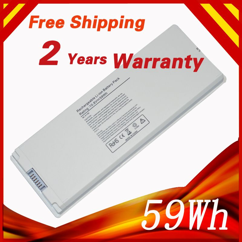 59Wh 10.8V batterie d'ordinateur portable pour Apple MacBook 13
