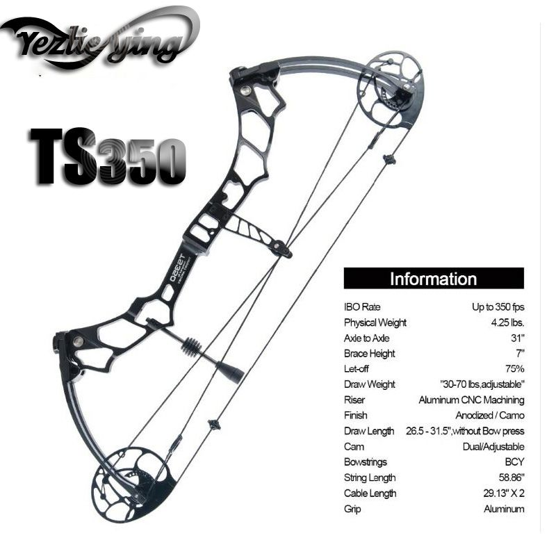Composite Bow Package TS350, 25