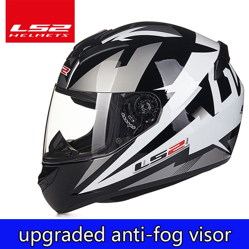 LS2 Global store LS2 FF352 full face motorcycle helmet Free upgrade anti-fog lens moto casque racing helmet ECE approved