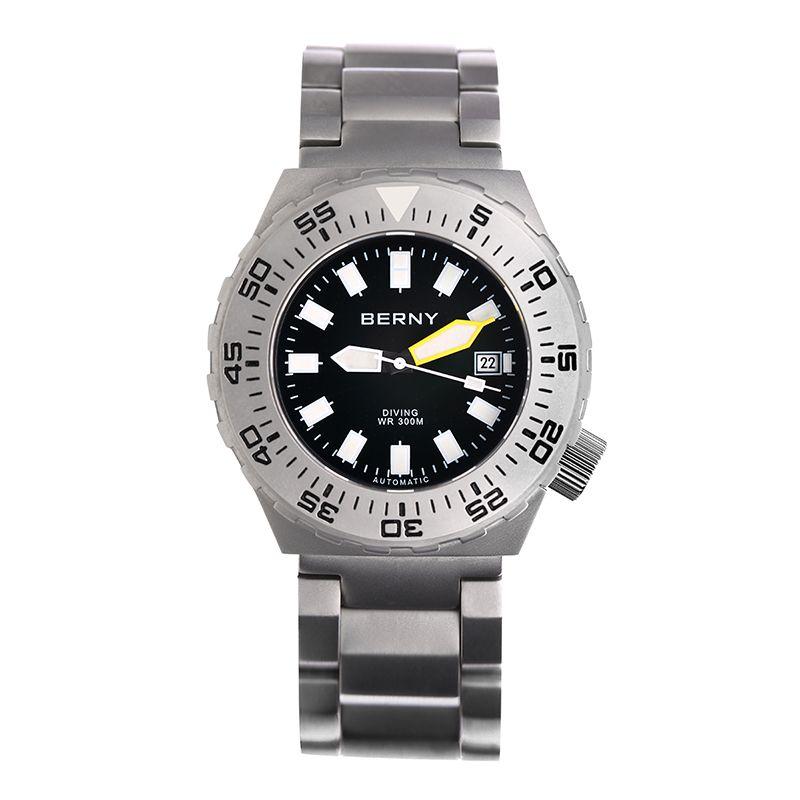 Berny Männer Uhr Automatische Mechanische Herren Uhren Mode Top Luxus Marke Relogio Saat Montre Masculino Erkek JAPAN BEWEGUNG