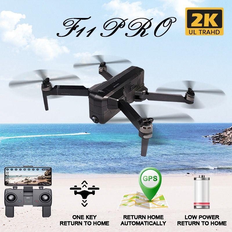 SJRC F11 PRO GPS 5G Wifi 500m FPV Mit 1080P 2K Weitwinkel Kamera 28 Minuten flug Zeit Bürstenlosen Faltbare RC Drone Quadcopter RTF