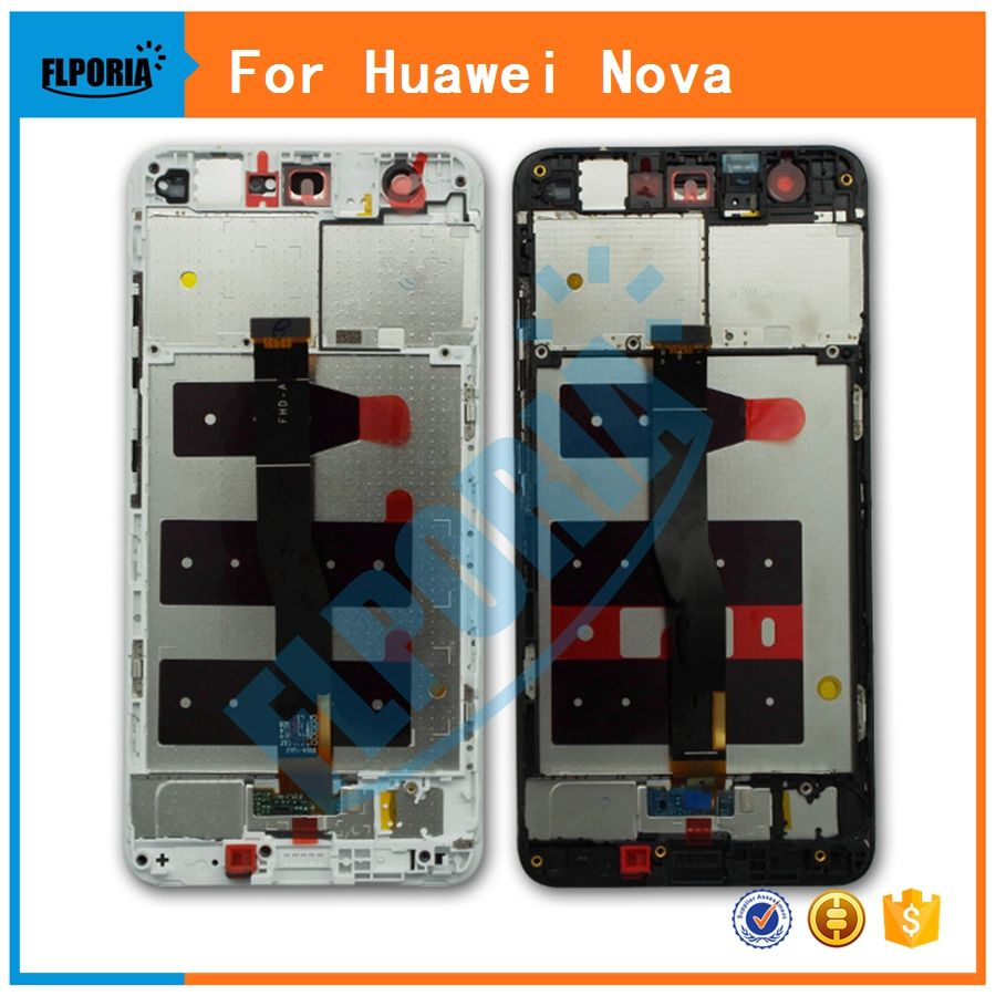 For Huawei Nova CAN-L01 L11 L02 L12 L03 L13 LCD Display Touch screen Digitizer Sensor Glass Panel Assembly With Frame