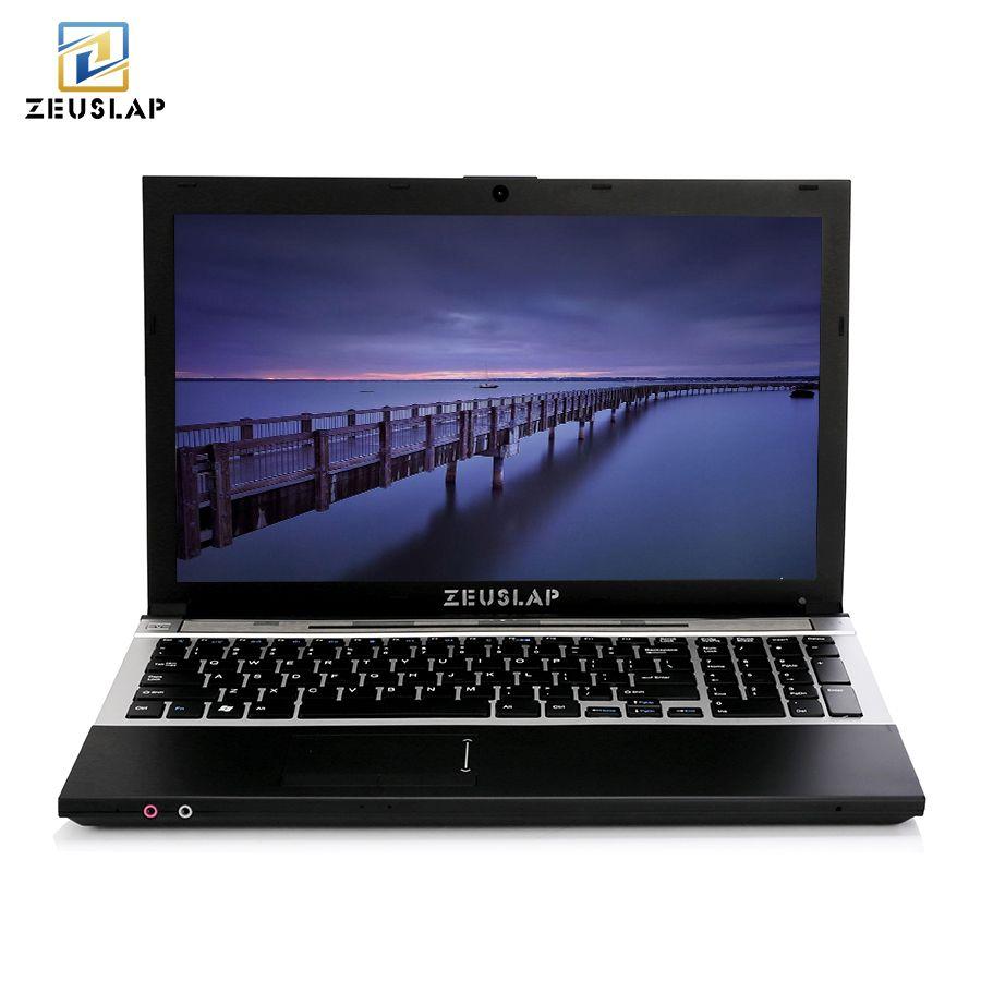 15,6 zoll 8g RAM 1 tb HDD Intel Quad Core Windows 7/10 System Notebook für schule, büro oder zu hause Computer laptop mit DVD ROM