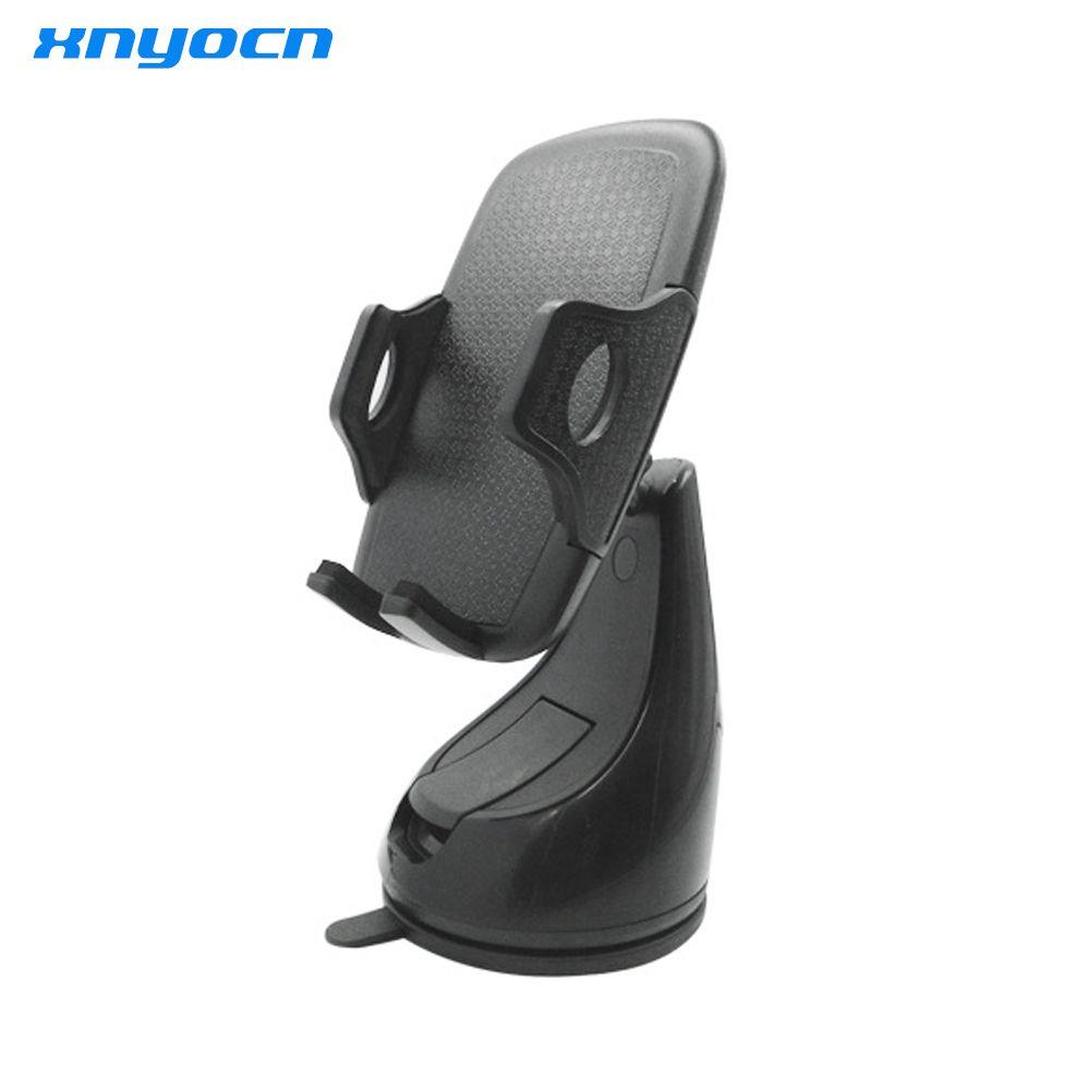 Xnyocn universel voiture support de montage de pare-brise forte aspiration mandrin support pour téléphone support pour Iphone 4 s 5 5 s 6 7 plus Galaxy