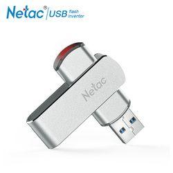 Driver untuk Netac Rotary USB Flash Drive 16G Flashdisk 32 GB 64 GB Putar Pena Drive 128 GB USB 3.0 Memori stick Flash Drive Penyimpanan Perangkat