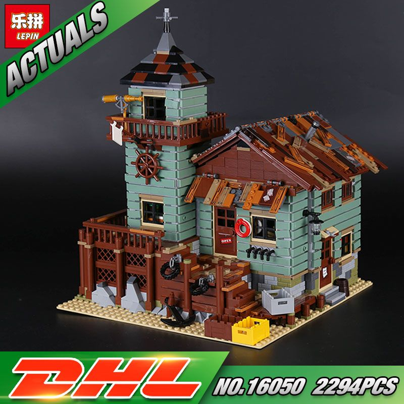 In Stock DHL Lepin 16050 2294Pcs MOC Series The Old Finishing Store Set 21310 Building Blocks Bricks Christmas Toys Gift for Kid