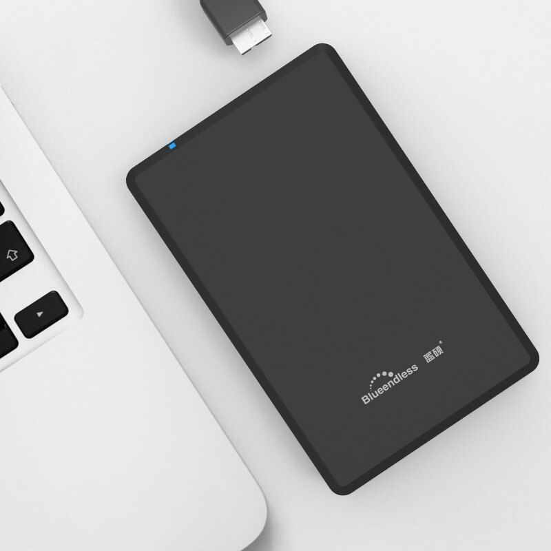 Blueendless HDD 2.5 inch Plastic USB 3.0 Sata External Hard Drive 250GB/2TB Hard Disk hd externo disco duro externo Hard Drive