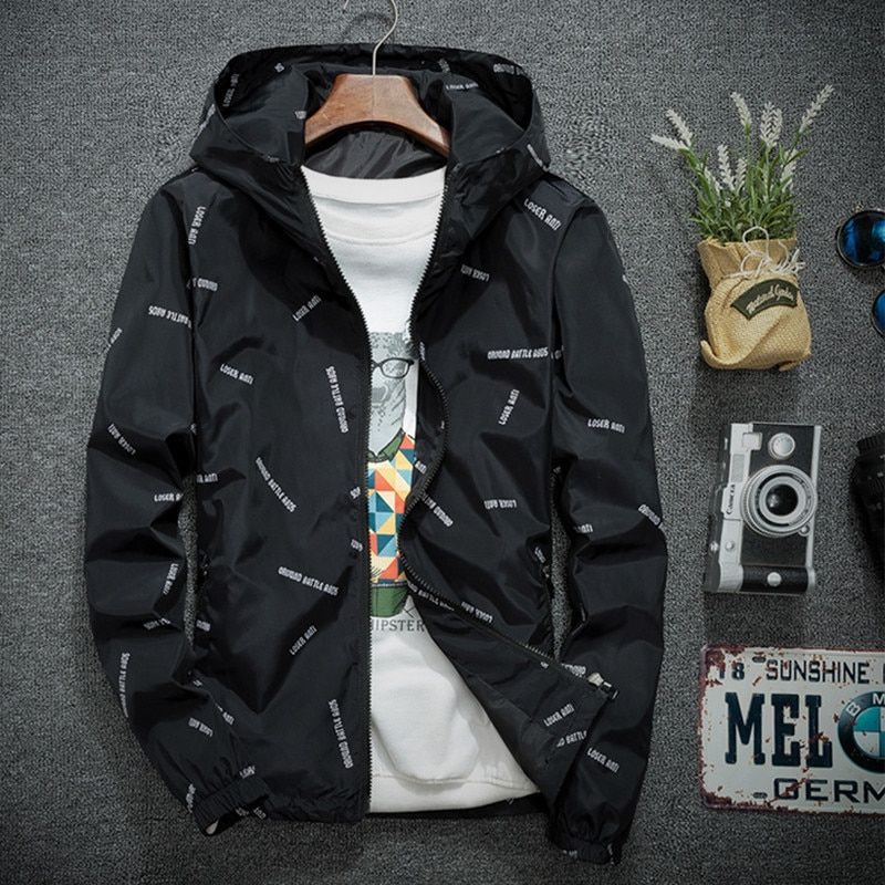 Plaid Jackets Men Coat Slim Fit Fashion Mens Bomber Jackets Hiphop Streetwear Windbreaker Male Baseball Jacket For Men