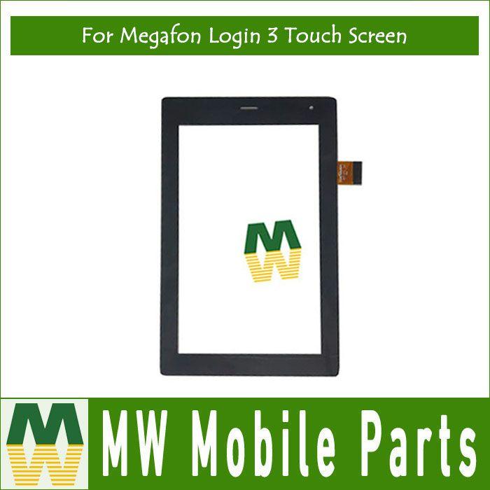 1PC/ Lot Black Color High quality For Megafon Login 3 MT4A Login 3 Tablet Touch Screen Digitizer