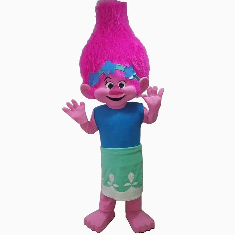 Branch From Dreamworks TROLLS Movie Mascot Costume Fancy Dress BRAND NEW cosplay costumes