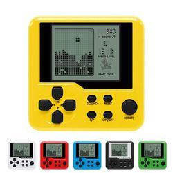 Ultra-petit mini Tetris Enfants de poche console de jeu Portable LCD Joueurs Enfants Jouet Jouets Éducatifs Électroniques classique