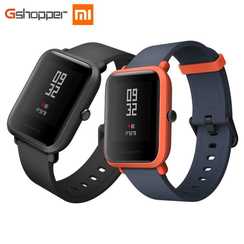 Original AMAZFIT Bip Youth Edition Smart Watch GPS GLONASS Bluetooth 4.0 Heart Rate Monitor IP68 Waterproof Android 4.4 IOS 8