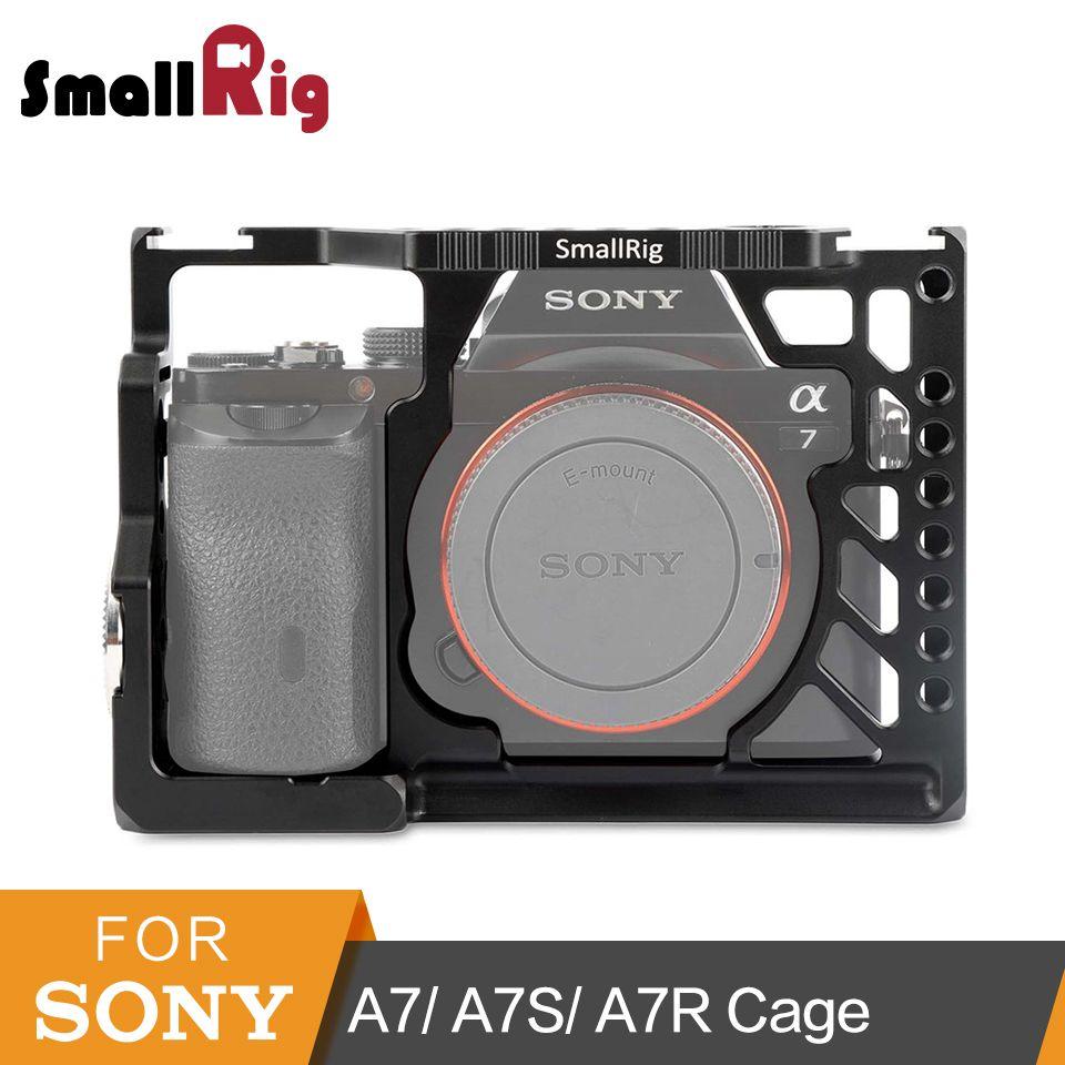 SmallRig Für Sony A7 Serie Kamera Käfig a7/a7S/a7R Video-, der Schutz Käfig Zubehör Kit Rig -1815