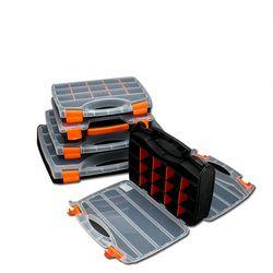 Практичный ABS пластиковый винтовой инструмент коробка для хранения с блокировкой отвертки Аппаратные аксессуары коробка инструментов Авт...