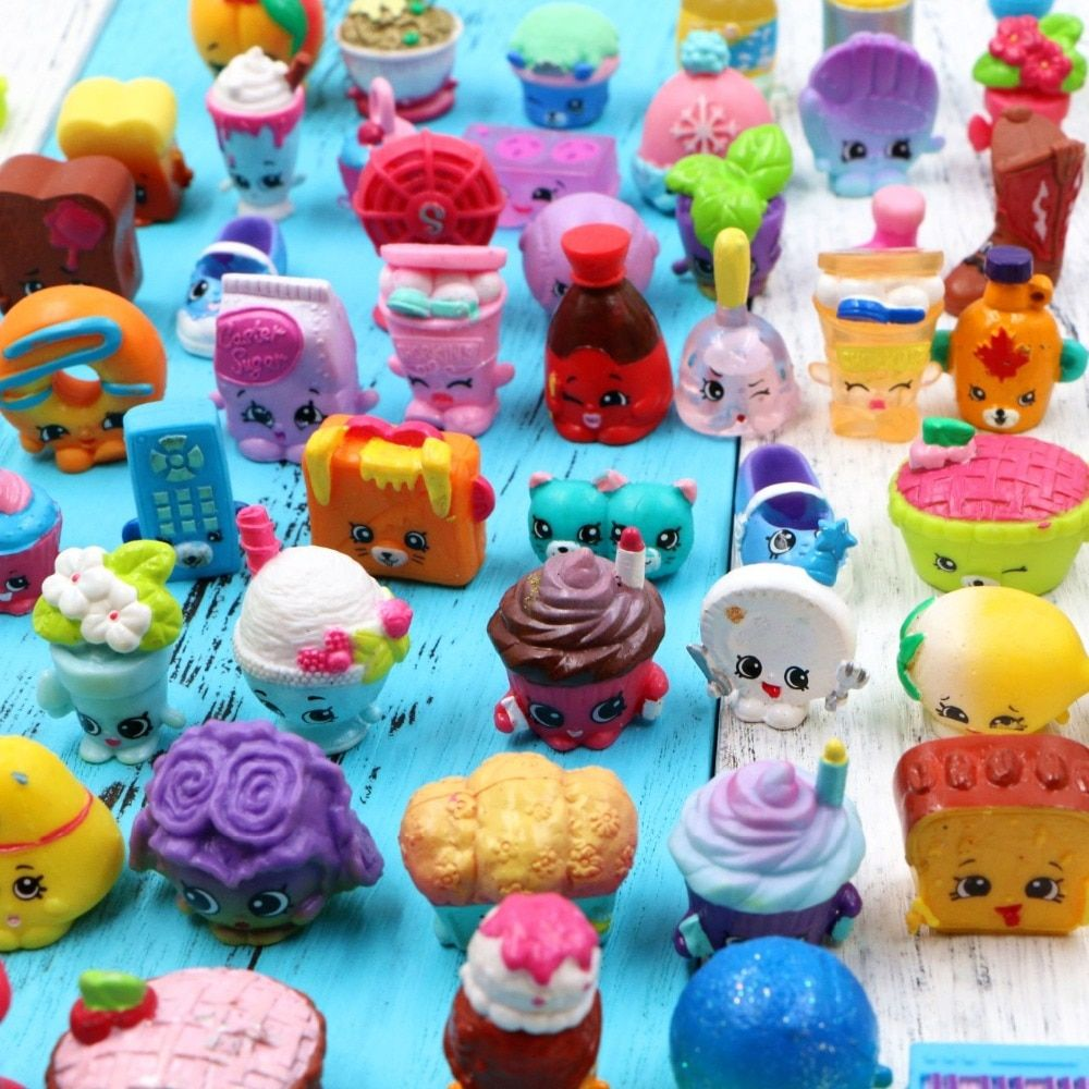 100pcs/1lot New Arrial Fruit Tools Catoon 1-3cm Action Figures Toys Brinquedo Toy Girl Boy Christmas Gift