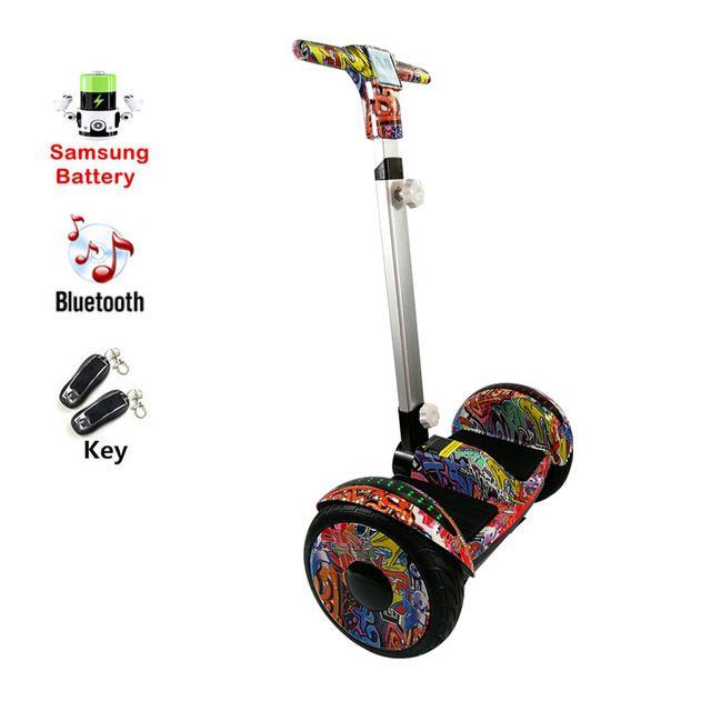 Hoverboard elektrische roller Skateboard Samsung batterie Roller griff Bluetooth hover board Über Bord citycoco