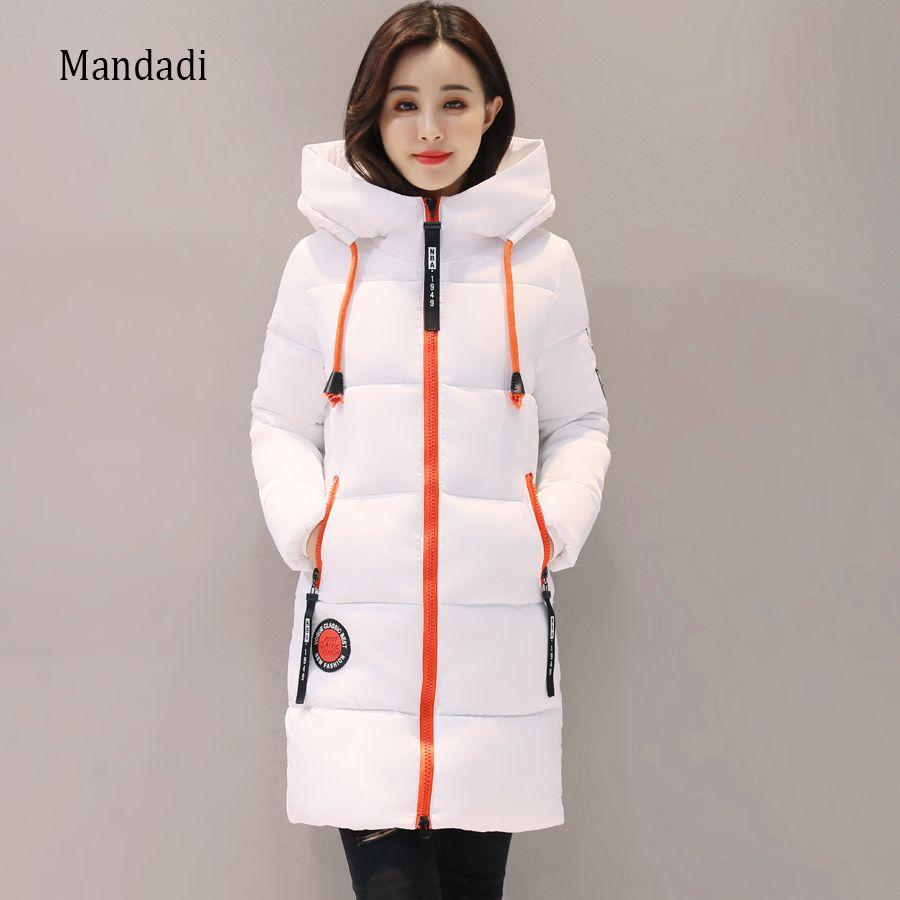 2017 Winter jacket women Thick Long Women Parkas Hooded Female Outwear Coat Down Cotton Padded Snow Wear