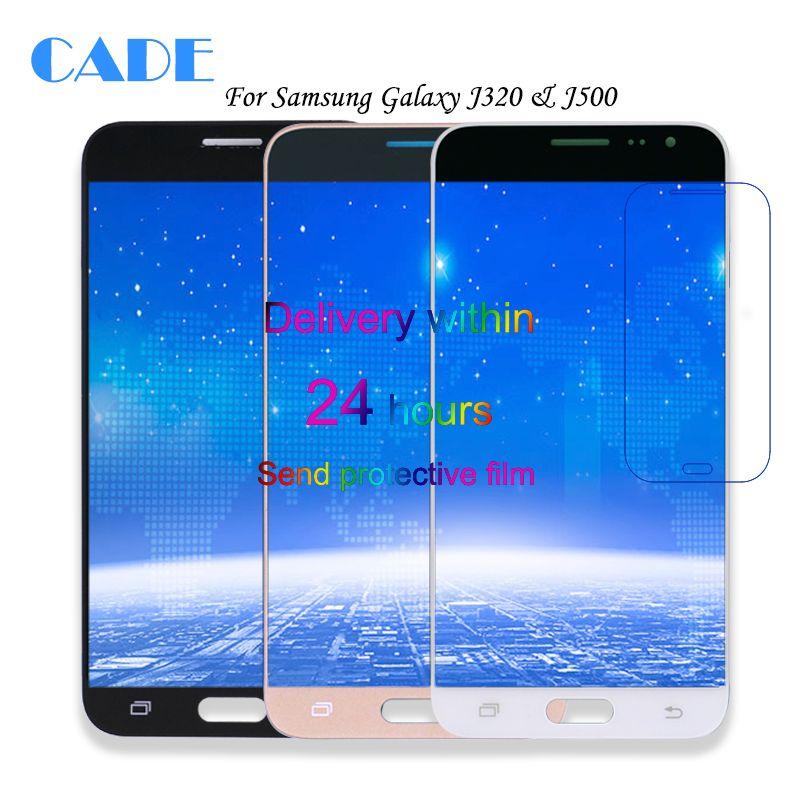 LCD Display For Samsung Galaxy J3 2016 J320F J320H J320M J320FN J5 2015 j500 J500F J500FN J500H Touch Screen Digitizer Parts