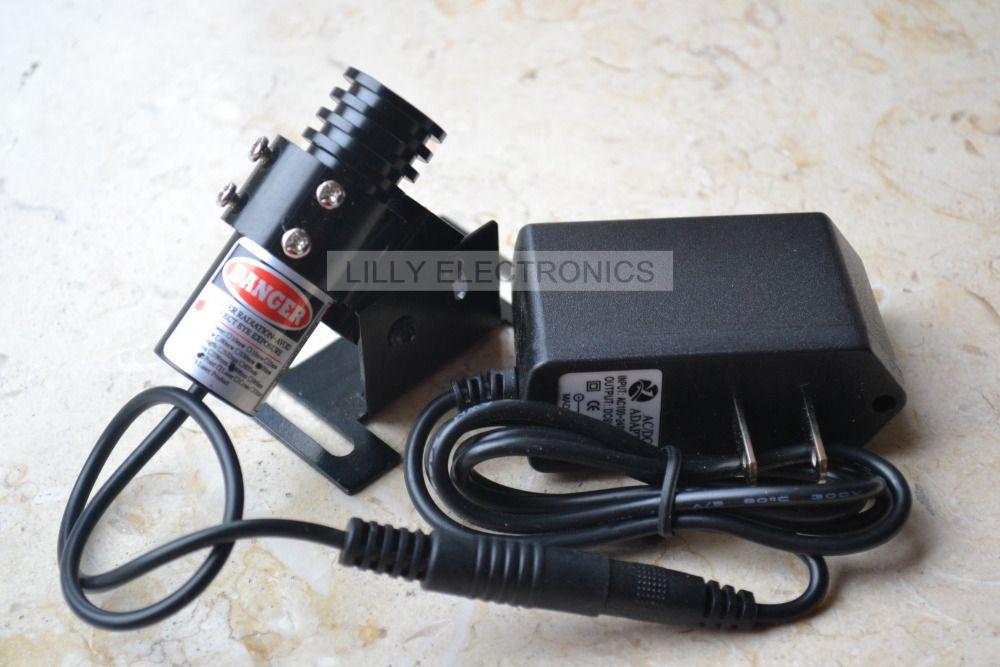 808nm 200 MW dot ir infrarrojos láser enfocable módulo con adaptador de ee.uu. y disipador de calor
