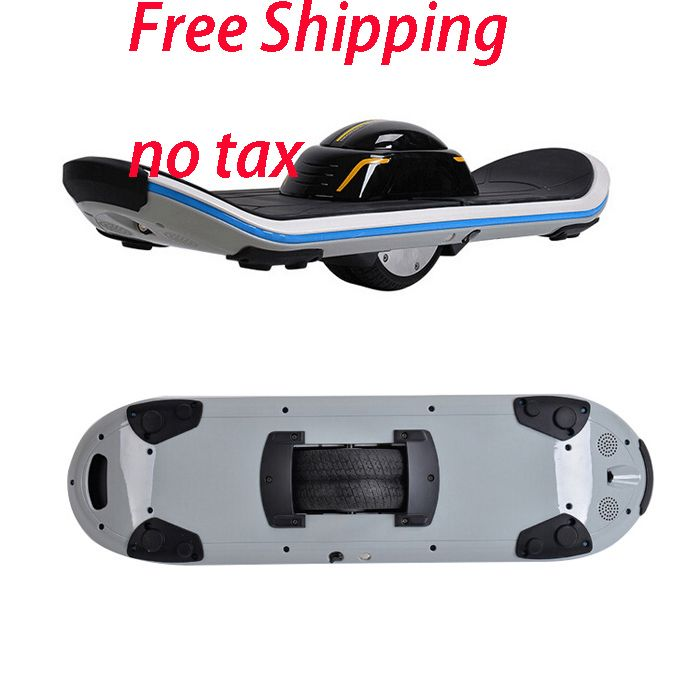 Hoverboard ein einzelnes rad Elektrische Smart Board Selbstausgleich Roller Bluetooth Musik skateboard