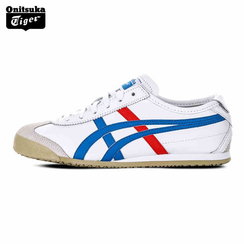 Onitsuka Tiger MEXICO 66 Men Sport Shoes Classical Color Breathable Lovers Shoes Lightweight Women Sneakers DL408