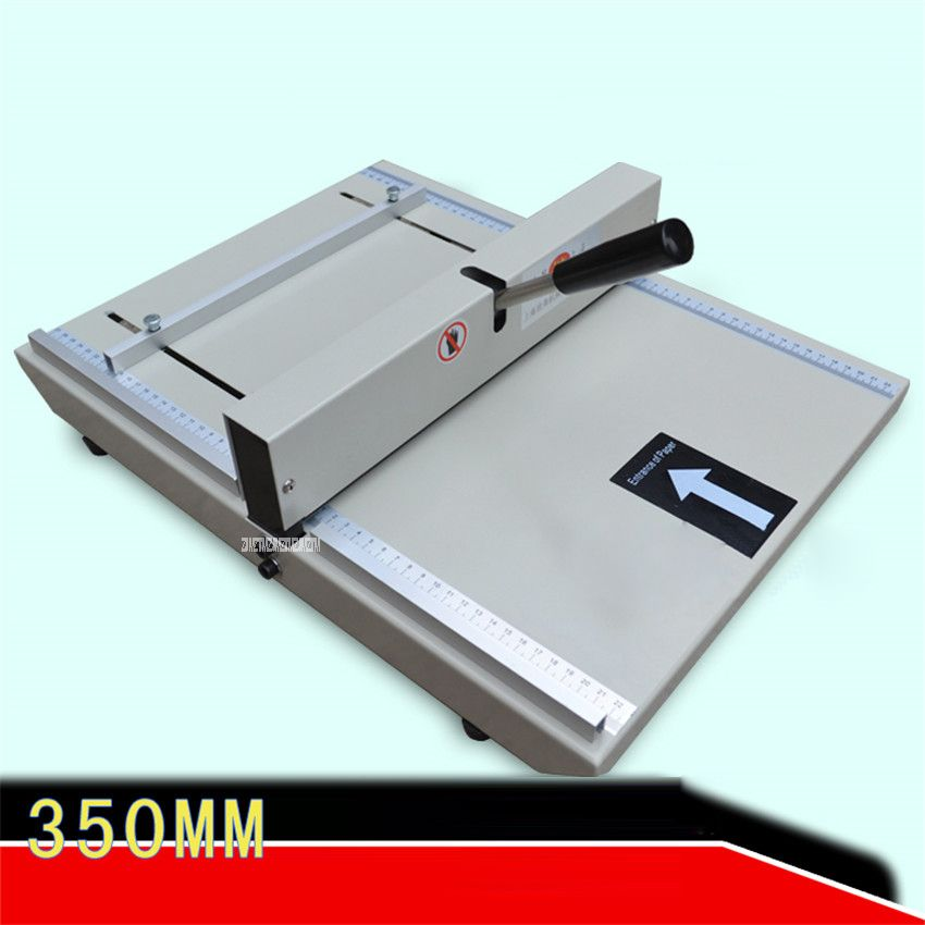 A3 / A4 format cover indentation machine indentation width 35CM paper folding machine cover folding Manual Binding Machine