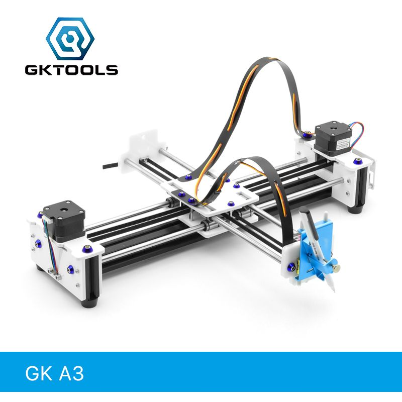 GK A3 DIY Drawbot Pen CNC Drawing Machine Lettering Writing Robot Corexy XY-plotter Drawing Robot Kit Drawing Toys