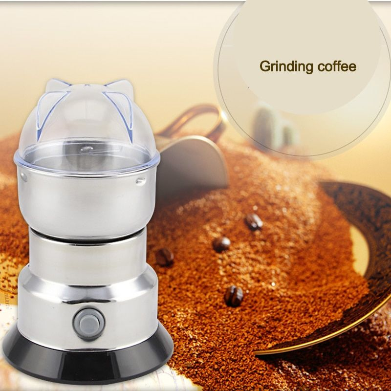 Stainless steel grinding machine Chinese herbal medicine crusher cereal grains household milling machine electric coffee grinder