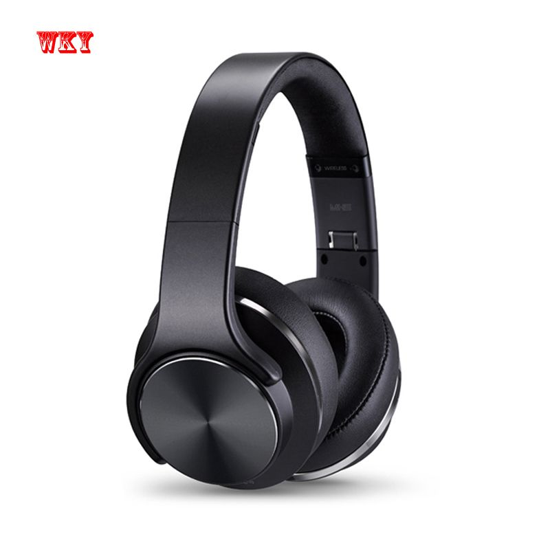 WKY Official Bluetooth 4.2 NFC Headphones Wireless Headset Active Noise Cancelling with Mic For Phone Best Quality For xiaomi