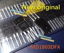 Gratis Pengiriman 20 Pcs NPN MD1803DFX MD1803 1500 V 10A TO-3PF 100% Baru Asli D1803 1803 1803DFX Kualitas Terbaik