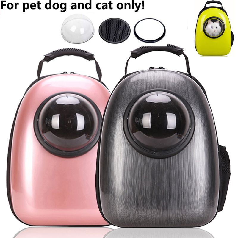 Space Capsule Shaped Pet Carrier Breathable backpack for dog cat outside Travel portable bag pet products accessories
