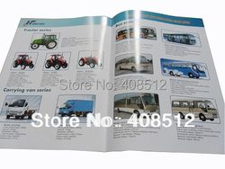 Customized printing A4 28 pages including cover product catalogue