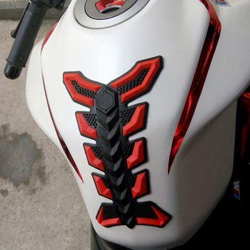 Универсальный мотоцикл 3D резиновая газойль топливный бак Pad Protector Наклейка стикеры новый автомобиль интимные аксессуары