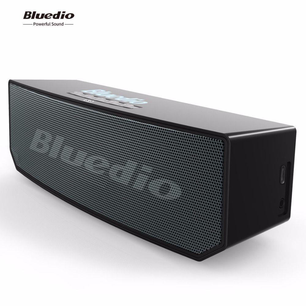 Bluedio BS-6 Mini Bluetooth Lautsprecher Tragbare Drahtlose BT 5,0 Lautsprecher mit mikrofon Smart Cloud lautsprecher Voice Control