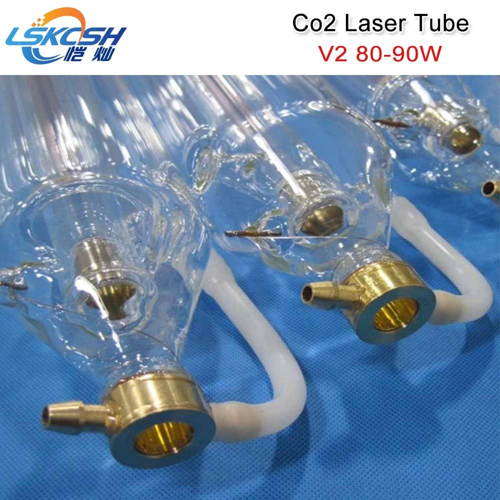 LSKCSH Co2 laser tube SP80 80W CO2 Laser Tube 1250mm length 80mm diameter for Co2 Laser engraving Cutting Machines wholesale