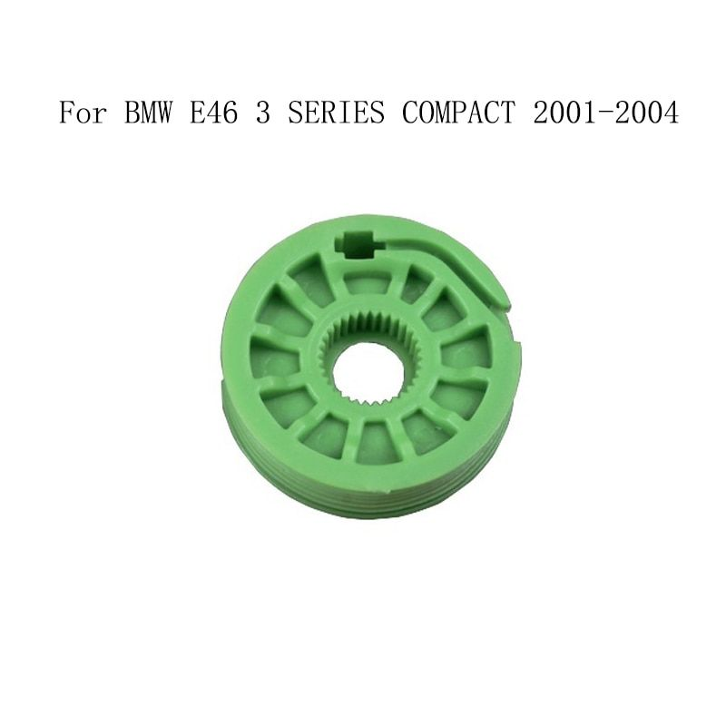 For BMW E46 3 SERIES COMPACT 2001-2004 Power Electric Window Regulator Window Lifter Repair Roller Wheel Pulley Front Left Right