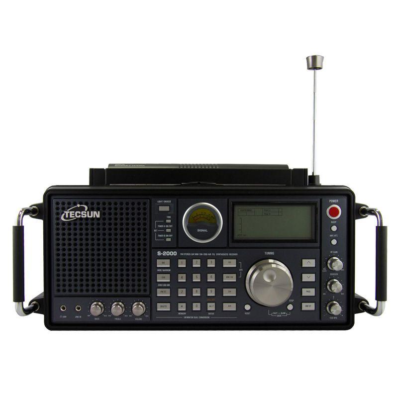 Tecsun S-2000 2 kanal Digital Tuning Tabletop HAM Amateur Radio SSB Dual Umwandlung PLL FM/MW/SW/ LW Luft volle Band
