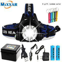 10000LM T6 L2 светодиодный налобный фонарь с приближением, дропшиппинг фар Водонепроницаемый Головной фонарь на голову фонарь для рыбалки и охот...