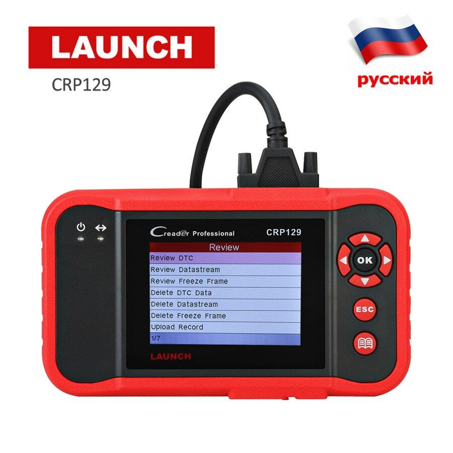 Launch Creader CRP129 OBD2 Scanner Car Diagnostic Tool Engine ABS SRS Code Reader Auto Diagnostics Scan Tool Brake Oil Reset