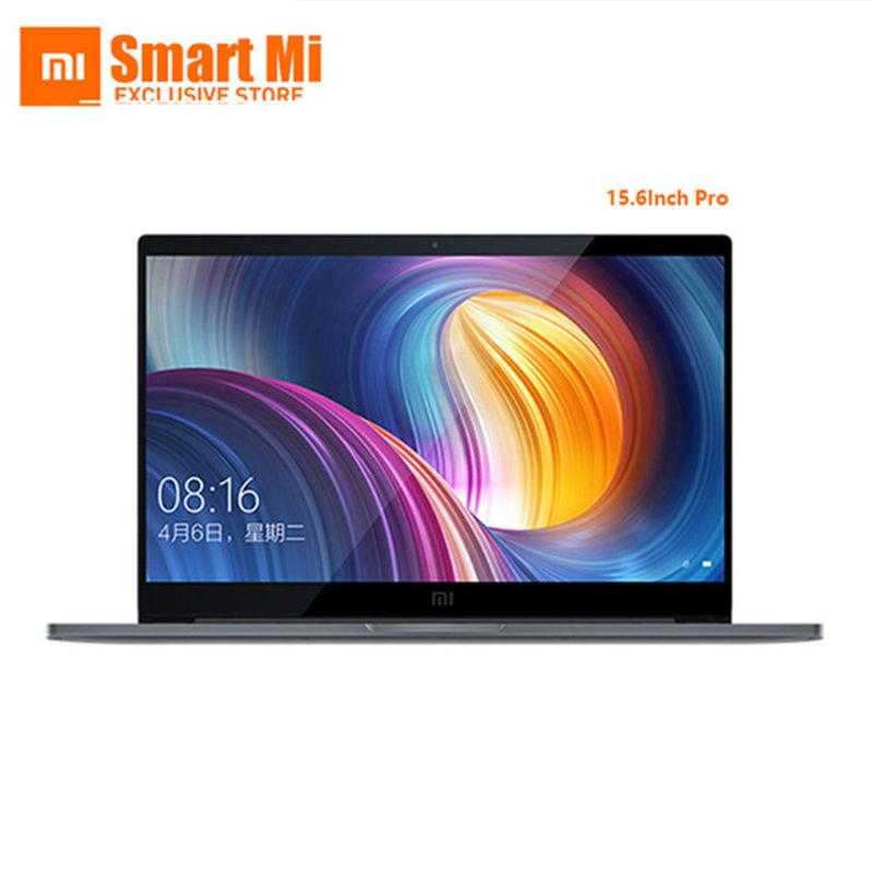 Original Xiaomi Mi Laptop Pro 15,6 Zoll Intel Quad Core NVIDIA GeForce MX150 1920x1080 FHD Fingerabdruck Entsperren Dark grau