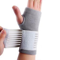 Professionelle elastische sport sicherheit karpaltunnel tennis handgelenk bandage brace unterstützung freies verschiffen # ST6614