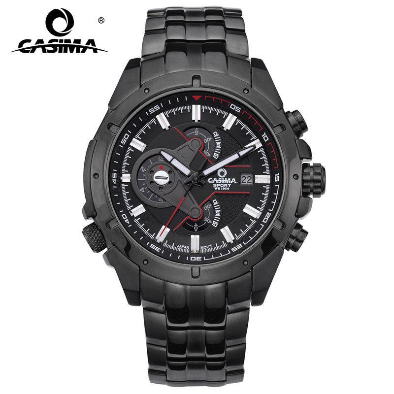 Luxury Brand Sport Watches Men Multi-functional Wristwatch Fashion Men's Quartz Watch Waterproof 100m #CASIMA 8202