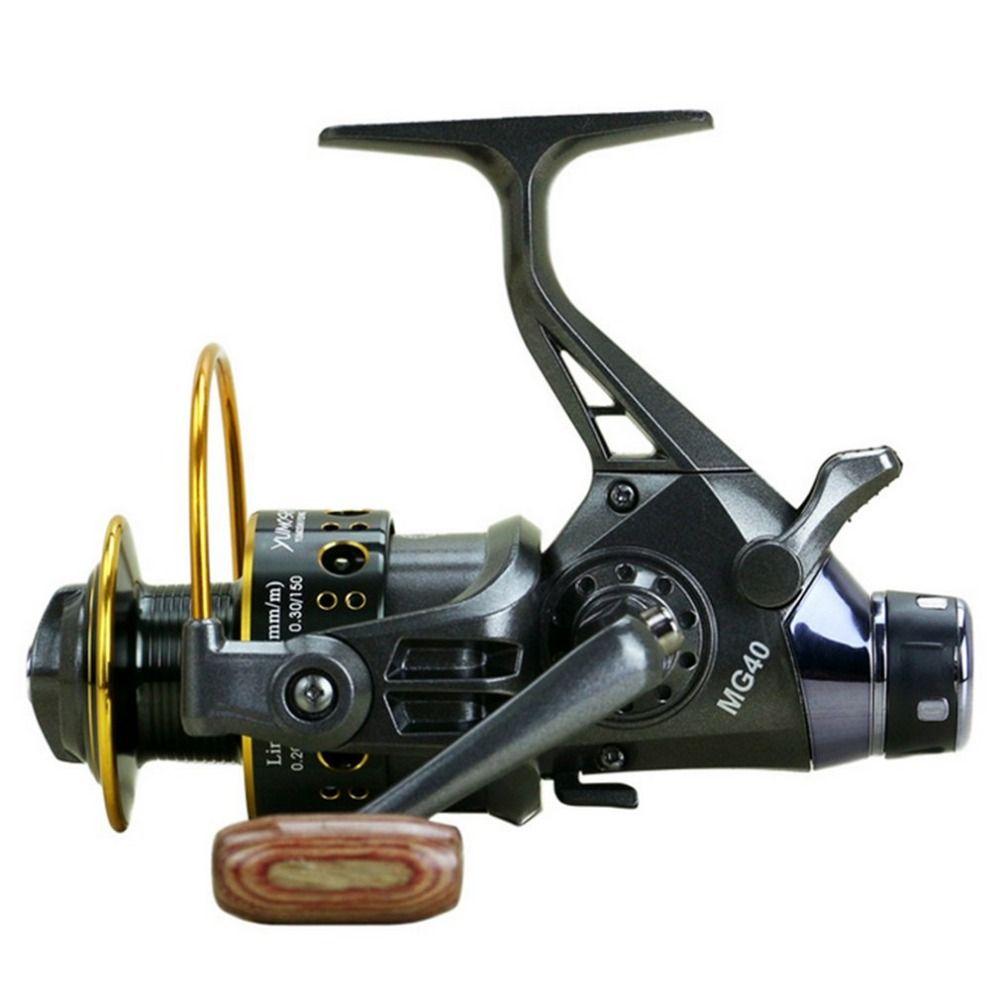 YUMOSHI Angeln Reel 10 + 1 Kugellager Vorne Hinten Dual Bremse System Metall Spule Köder Casting Angeln Reel für outdoor Angeln