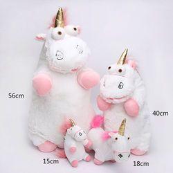 1PCS Lovely Kawaii Plush Stuffed Toy Unicorn Pendant Cuddly Kid Gift Fluffy 56cm Christmas Gift